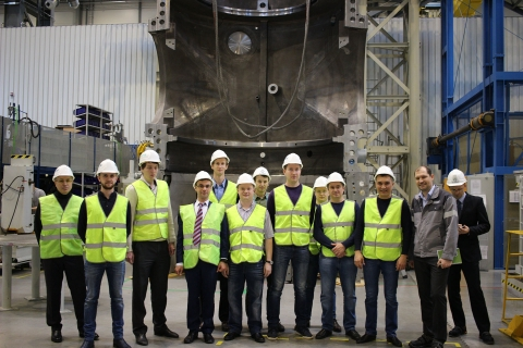 A group of from Gazprom Neft at OOO Siemens gas turbine technologies