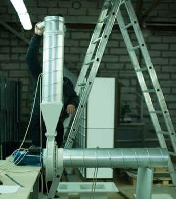 Расчет, проектирование и испытания вентилятора специального исполнения для агрессивных газов