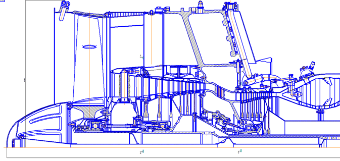 Проект модернизации в целях повышения КПД и уменьшения массогабаритных показателей компрессора авиационного ГТД Д-36