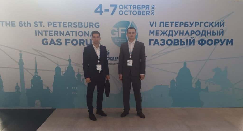 Студенты Р. Шалапутов и В. Востриков - кадровый резерв Газпрома