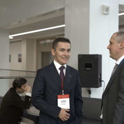 Symposium on compressor technique 2019: participants of the symposium A.A. Biktimirov - Deputy Head of Department, LLC RN-Vankor and A.V. Smirnov - General Director of Grossmann Gaz Systems LLC