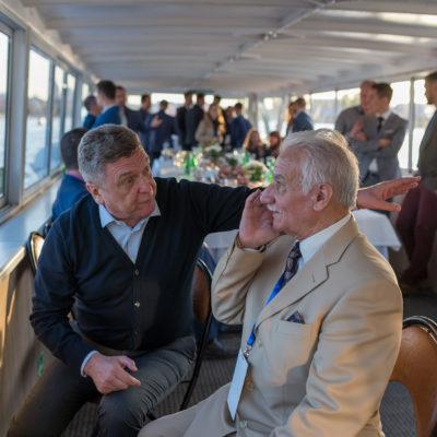 Торжественный ужин для участников симпозиума 2018 на теплоходе по Неве и Финскому заливу