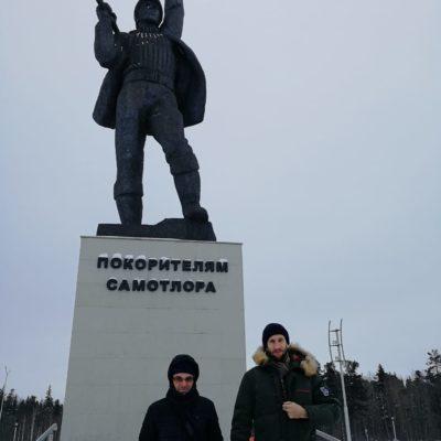 Working visit of Yu.V. Kozhukhov and S.V. Kartashov to Nizhnevartovsk.