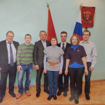 """Associate professor of the department """"Compressor, vacuum and refrigeration equipment"""" Yu.V. Kozhukhov among the winners of the competition for grants of the President of the Russian Federation in 2012."""