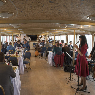 Conference 2021: gala dinner on a boat for conference participants