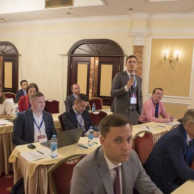 "Conference 2021: Rapporteur asked question RM Yusupov - representative of the company ""Kynsko-chatelskoe neftegaz"""