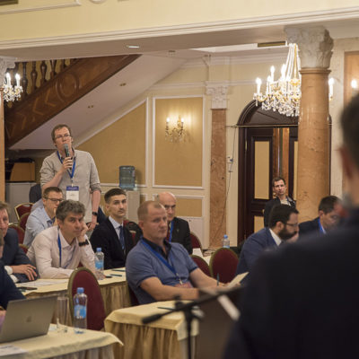 Conference 2021: the question asks PA speakers Rogov - Ariel Corporation