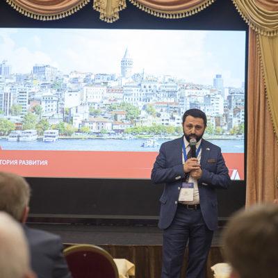 """Conference """"Compressor Technologies"""" 2021: speech by Deputy General Director of JSC """"Dalgakiran-M"""" Ersin Suzen"""