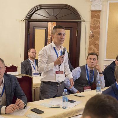 Conference 2021: rapporteurs question asks AA Biktimirov, Gazpromneft Development LLC
